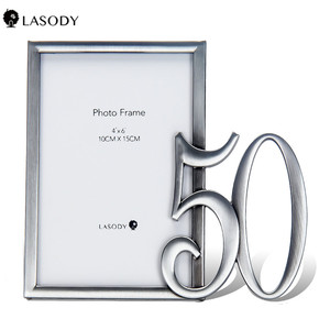 Personalized Birthday 4x6 Inch Picture Frame - 21st 30th 40th 50th 60th 70th 80th Birthday Gifts for Men Women gift(China)