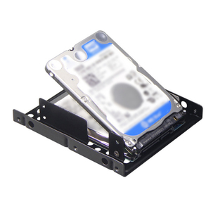 Double Layer SSD Metal Frame 2.5 Inch To 3.5inch External SSD Metal Mounting Kit Adapter Bracket For SATAII 2.5inch hard driver(China)