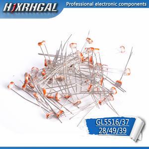 Hjxrhgal Resistor 5516 Photosensitive Dependent 5537 5539 Light 5528 5549 1pcs