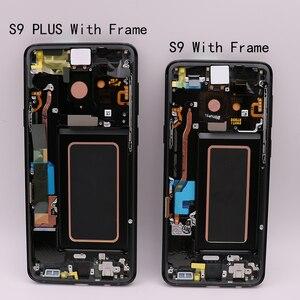 Image 5 - Pièces de rechange d'origine Amoled pour Samsung Galaxy S9, avec écran tactile LCD avec fonction numérisation et cadre d'affichage G960/G965