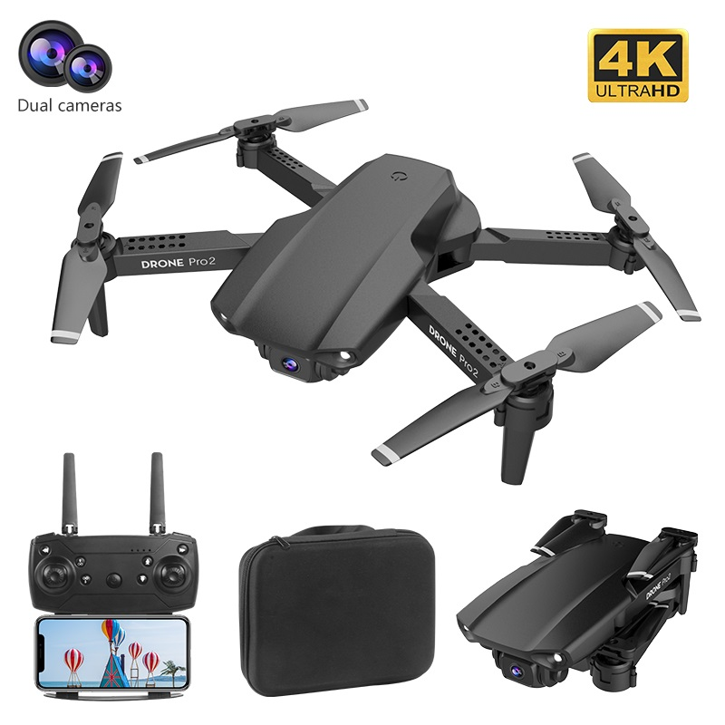 E99 RC Drone 360 Degree Flip 4K HD Camera Aerial Photography Helicopter One Key Return Foldable Quadcopter