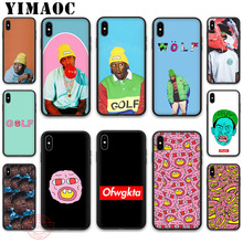 YIMAOC Tyler The Creator Soft Silicone Case for iPhone 11 Pro XR X XS Max 8 7 6 Plus 5S SE 6SPlus 7Plus 8Plus Cases