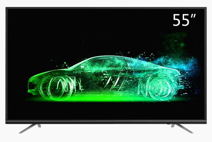 Grote Monitor screen 50 55 65 inch ultra slanke android televisie wifi led TV 1.5GB RAM 8GB ROM smart televisie TV