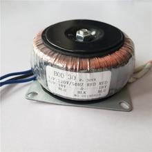 Dual 15V 18V 24V 12V 0 12V 15V 0 15V 220V Koperen Custom Ringkern Isolatie Transformator 30VA Buis Voeding 220V Dual 12V