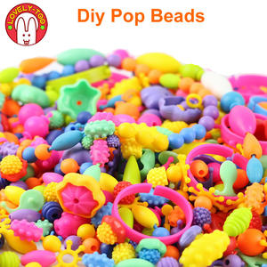 Toys Jewelry Bracelets Crafts Pop Beads Handmade Girls Kids Children's Diy Creativity