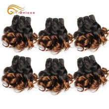 Remy-Hair Hair-Bundles Natural-Color Peruvian Dejavu High-Ratio