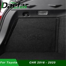 2 pçs/set tronco boot defletor para toyota C-HR chr 2016 - 2020 tronco partição peças caixa de armazenamento defletor cauda do carro acessórios