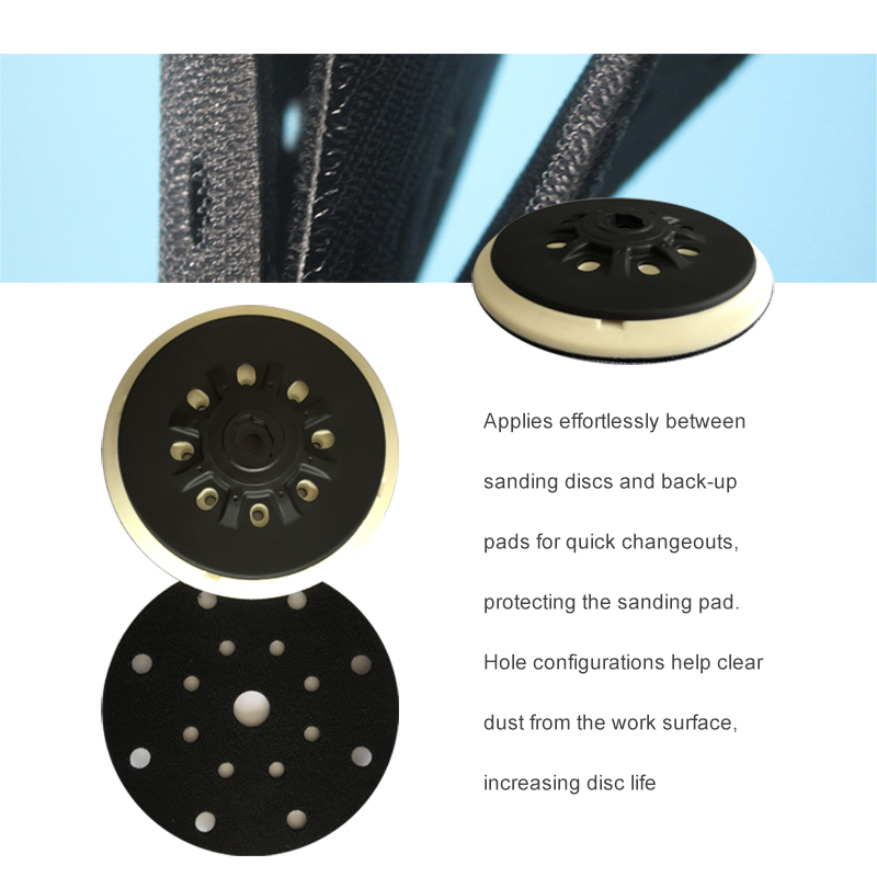 Protection Pad Disc 6in 17-Hole 150mm For Sander Polishing Grinding Hook & Loop Protective Disc Suitable For Festool Sander Pad