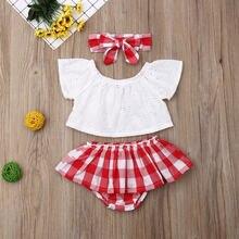 Новейшая модная одежда для маленьких девочек летние однотонные