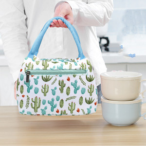 Fashion Portable Insulated Lunch Bag Oxford Aluminum Cool Thermal Food Picnic Organizer Bags For Women Men Cooler Lunch Box Case