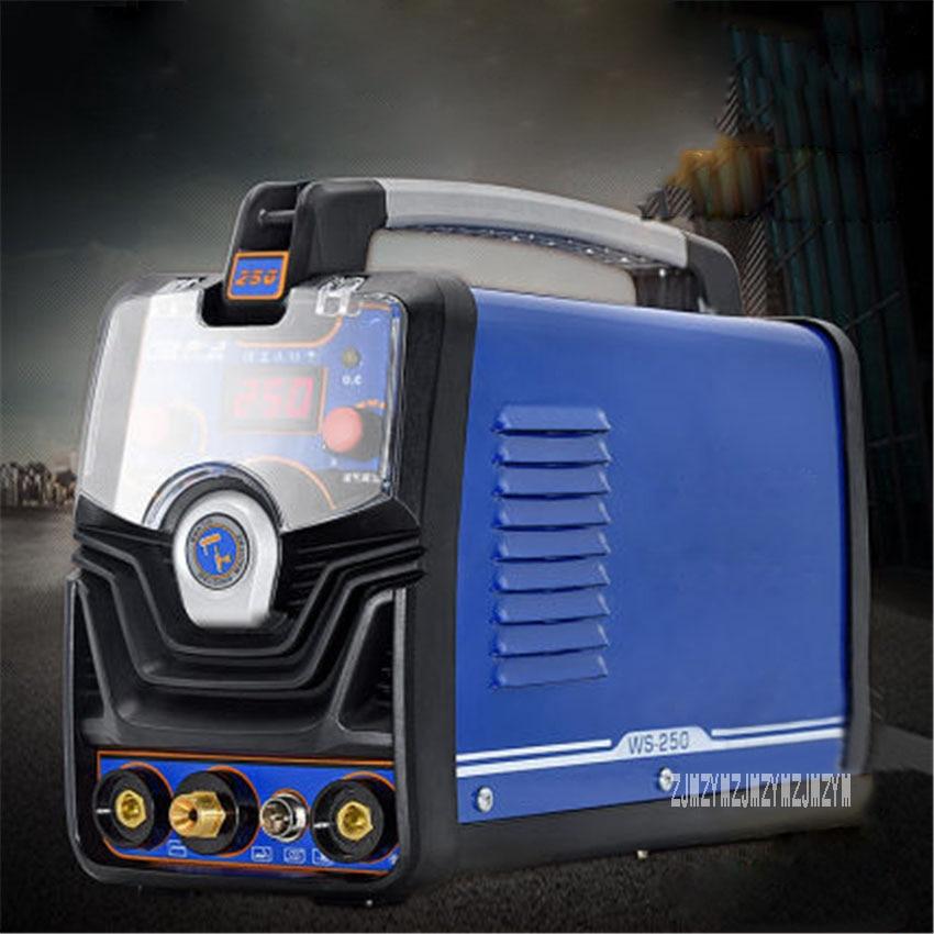 WS-250 Электрический сварочный аппарат бытовой небольшой дуговой сварочный аппарат из нержавеющей стали промышленный дуговой сварочный аппа...