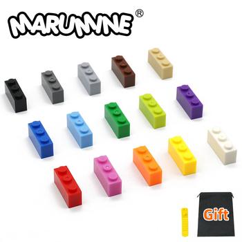 MARUMINE cegły 150 sztuk partia 1 #215 3 klasyczne zabawki edukacyjne dla dzieci MOC miasto baza klocki kompatybilny odrobina inne marki tanie i dobre opinie CN (pochodzenie) 3622 Building Bricks Z tworzywa sztucznego Ages for 6+ Sport 1 x 3 Cube Bricks 3622 100PCS Lot Plastic ABS