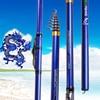 Carbon Fiber Telescopic Spinning Fishing Rod 5