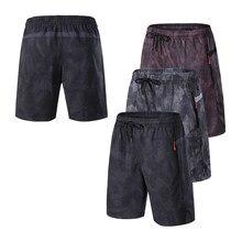 Pantalones cortos de camuflaje para hombre, Shorts deportivos de secado rápido, pantalón corto para correr, ajuste cruzado, para correr, a la moda, para playa