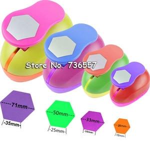 "Image 5 - 5pcs 3"" 2"" 1.5"" 1"" 5/8"" circle shape craft punch Hole Paper Cutter Scrapbooking school Paper Puncher eva hole punch"