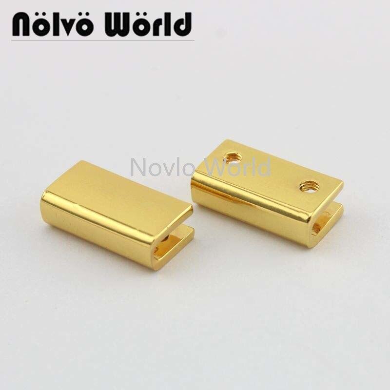 10 Pieces, 19.8*8.6mm Metal Side Clip Buckle Shoes Garment Belts Handbag Hanging Hook Strap Chain Diy Hardware Accessories