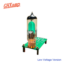GHXAMP 저전압 6E1 튜브 증폭기 보드 DC12V 교체 EM81 형광 튜닝 표시기 증폭기 6E1n 드라이브