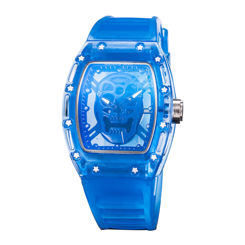 2020 Silicone Blue DZ Digite S Watch Rlo Dz Auto Date Week Display Luminous Diver Watches Stainless Steel Wrist Gift Male Clock