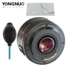 Оригинальный объектив YONGNUO YN EF 50 мм f/1,8 AF для Canon EOS 350D 450D 500D 600D 650D 700D, объектив с апертурой и автофокусом f1.8
