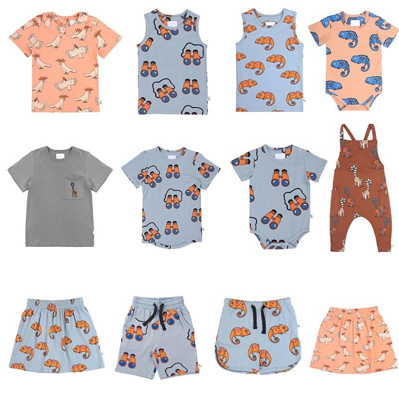 CarlijnQ Summer Kids T Shirt And Shorts Matching Boys Girls Fashion Brand Cartoon Tops CarlijnQ Kids Short Sleeve T-shirt Tees