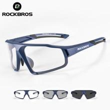 ROCKBROS lunettes de cyclisme photochromiques lunettes de vélo lunettes de sport pour hommes lunettes de soleil vtt cyclisme sur route lunettes de Protection