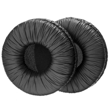 Newest 70mm Replacement Ear Pads Black Soft Cushions For Sennheiser HD25 HD25-1 Headset Headphone Accessories Mayitr