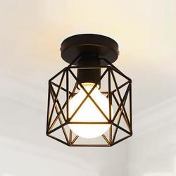 Lampy energooszczędne LED Retro przemysłowe oświetlenie sufitowe kreatywne nowoczesne czarne żelazne rzemiosło światło używane w barach  hotelach