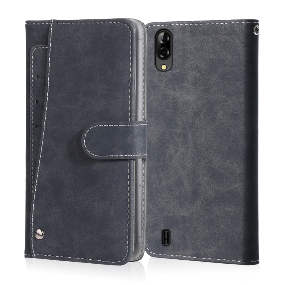 Luxury Vintage Case For Blackview A10 A20 A30 A60 A80 Pro Case Leather Flip Wallet Card Stand Magnetic Book Phone Cover