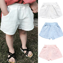 Shorts Boys Clothing Beach-Pants Girls Baby Kids Cotton Summer Children's New And 15