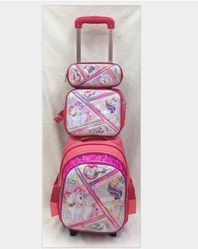 Plecak na kółkach dla dzieci plecak na kółkach dla dziewcząt plecak na kółkach plecak szkolny dla uczniów plecak na kółkach z kółkami tanie i dobre opinie ZIRANYU CN (pochodzenie) Lakierowana skóra zipper 1 8kg 41cm Nadruki z zwierzętami 12cm 30cm plecaki do szkoły