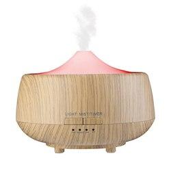 Domowy nawilżacz powietrza rozpylacz zapachów użytku domowego maszyna do aromaterapii okrągły nawilżacz powietrza z LED Light EU Plug 101 w Nawilżacze powietrza od AGD na