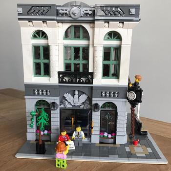 Bloques de construcción juguetes de bloques 15001 2413 Uds compatibles con LegoINGlys banco de ladrillos creador serie 10251 regalo para niños