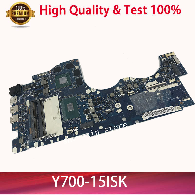 Brand NEW NM-A541 Mainboard For <font><b>Lenovo</b></font> Ideapad <font><b>Y700</b></font>-15ISK <font><b>Y700</b></font> <font><b>Y700</b></font>-15 BY511 <font><b>Laptop</b></font> Motherboard I7-6700 GTX960M 4GB TEST 100% image