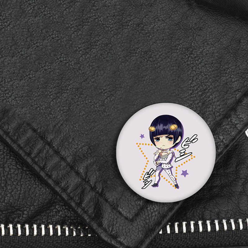 Japanse Anime JOJO Bizarre Adventure Display Badge Mode Cartoon Figuur Broches Pin Sieraden Accessoires