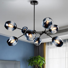 Nordic LED Chandelier Lighting for Home Living Dining Room E27 LOFT Pendant Lamp Hanging Lamp Bedroom Decor Indoor Light Fixture