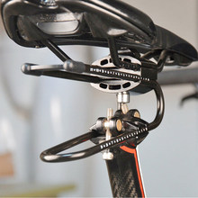 Bicycle Shock Absorber- Bicycle Saddle Alloy Spring Steel Suspension Device