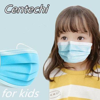 Disposable Kids Face Mask Non Woven 3 Layer Dust Breathable Gauze Mask Infant Face Mouth Mask For Children Direct order image