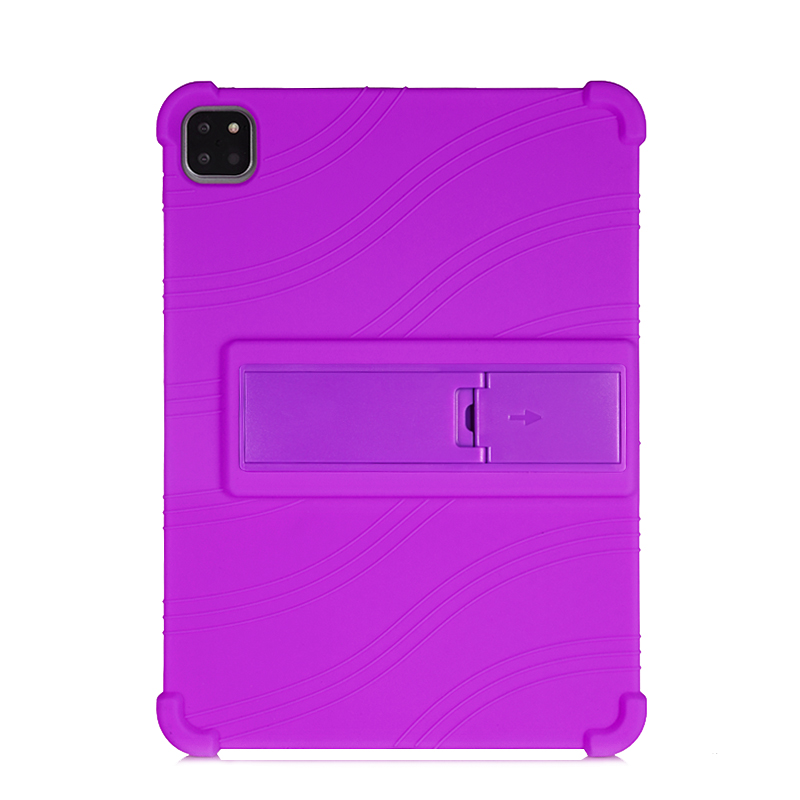 Purple Purple SZOXBY For iPad Pro 11 Case 2020 Flip Silicone Soft Cover For iPad Pro 11 2nd