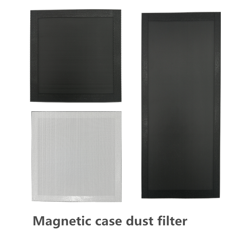 Magnetic chassis dust net computer <font><b>12</b></font> <font><b>cm</b></font> <font><b>fan</b></font> desktop dust filter 8CM14 side panel custom 240 image