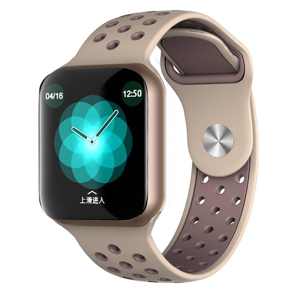 Vwar F9 Touch Screen Relógio Inteligente Monitor de Freqüência Cardíaca VS F8 Q9 P68 P70 Aptidão Rastreador Alarme do Relógio Inteligente à prova d' água pulseira