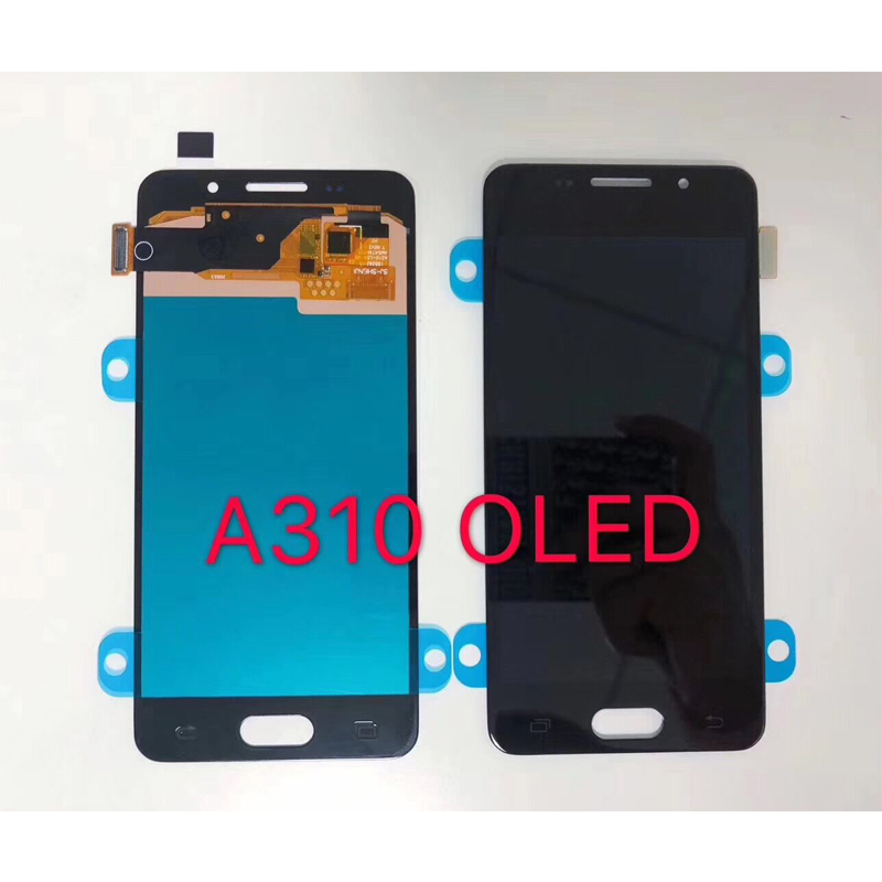 Original Super <font><b>Amoled</b></font> LCD For Samsung Galaxy A3 2016 A310 <font><b>A310F</b></font> A310H A310M A310Y LCD <font><b>Display</b></font> Touch Screen Digitizer Assembly image