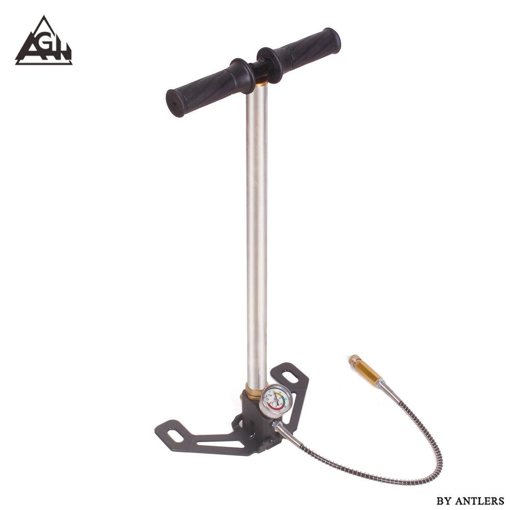 4500PSI PCP Pump 3 Stage Airgun PCP Pump Air Rifle High Pressure Pcp Hand Pump With Air Filter 40Mpa Gauge Paintball Pump