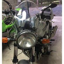 Windshield Windscreen Screen For 1990 - 2019 Yamaha XJR1300 XJR1200 XJR400 XJR 1300 1200 400 Headlight Side Mounting Bracket