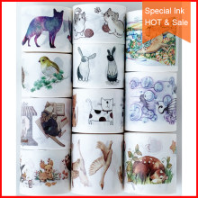 Free shipping,Special ink washi tape,69916,DIY craft masking tape,Scrapbook Diary gift,Many Coupons & animal patterns.HOT & SALE