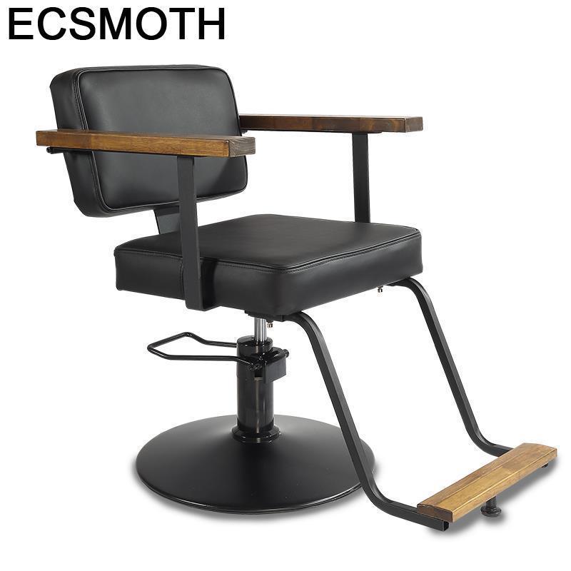 Stoelen Schoonheidssalon Cabeleireiro De Belleza Mueble Furniture Makeup Hair Salon Shop Barbershop Cadeira Silla Barber Chair