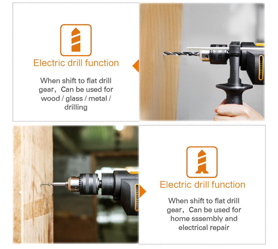 Electric drill function