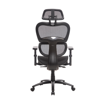 Two Colors Ergonomic Office Chair Mesh Chair Computer Chair Desk Chair High Back Chair with Adjustable Headrest and Armrest-blue 1