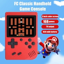 Retro 168 in 1 Video Game Console Portable Handhel