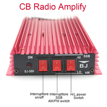Amplificateur de puissance Radio CB BJ 300 amplificateur HF 3 30MHz 100W FM 150W AM 300W SSB talkie walkie CB amplificateur BJ300 PLUS