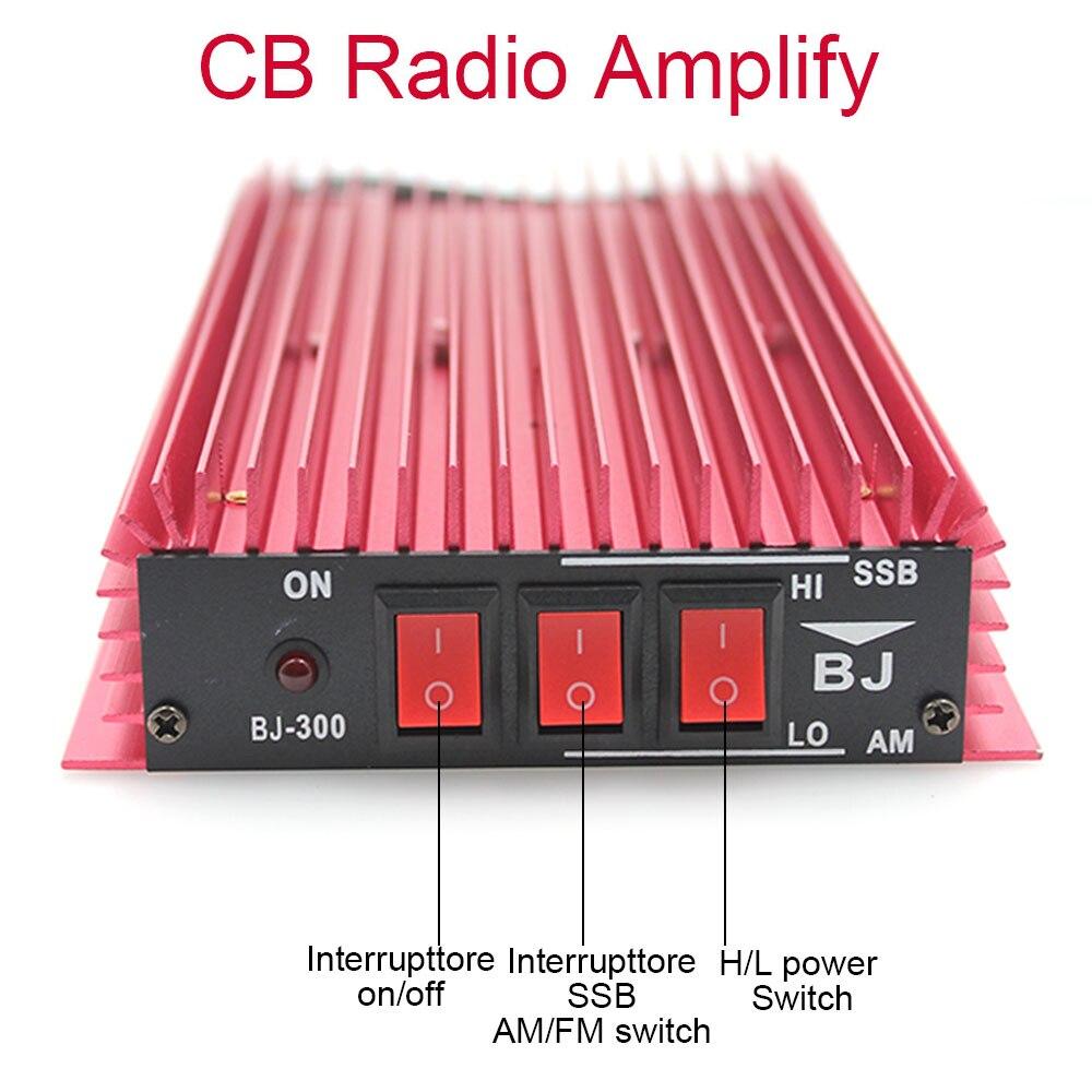 CB Radio Power Amplifier BJ-300 100W HF Amplifier 3-30 MHz AM/FM/SSB/CW Walkie Talkie CB Amplifier